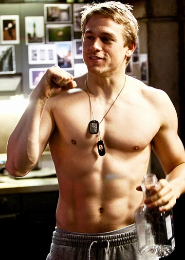Your Hunk of the Day: Charlie Hunnam